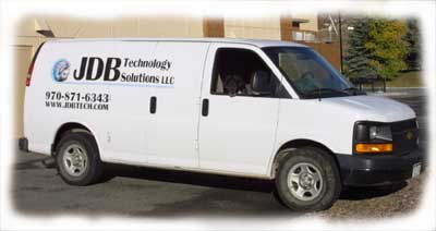 JDB Technology Van